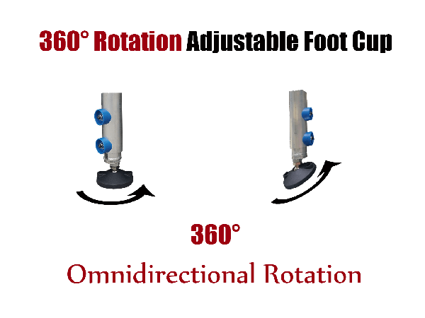 adjustable foot cup