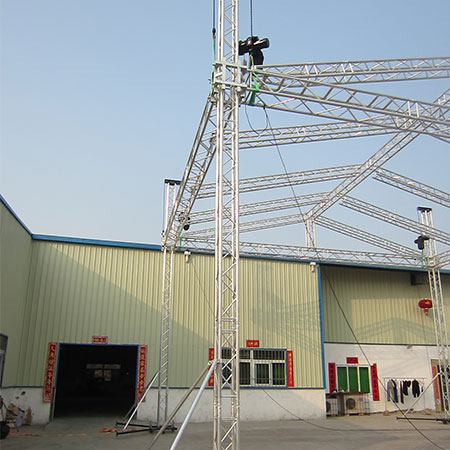 Intellistage portable stage systems bolt truss