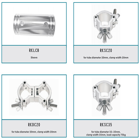 Aluminum Spigot Accessories For Stage Truss