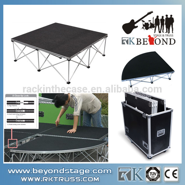 Hot Sale Portable Mobile Event Stage,Trailer Mobile Stages for Sale