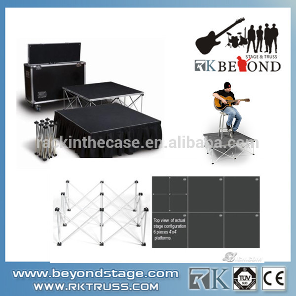 Cheap Portable Mobile Stage,On Sale Used Stages for Concerts