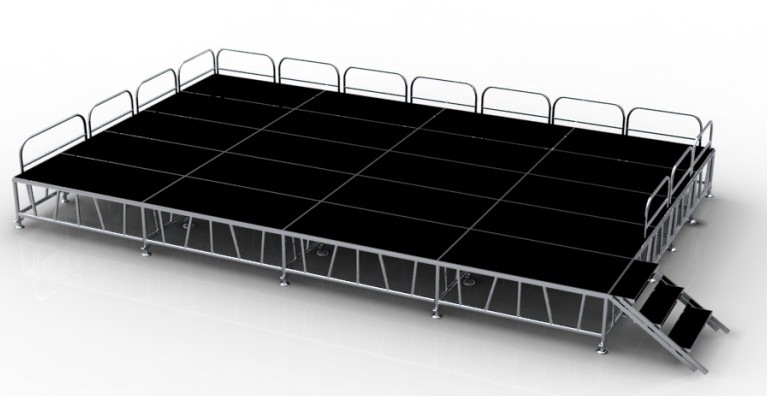 Aluminum stage for sale-RK